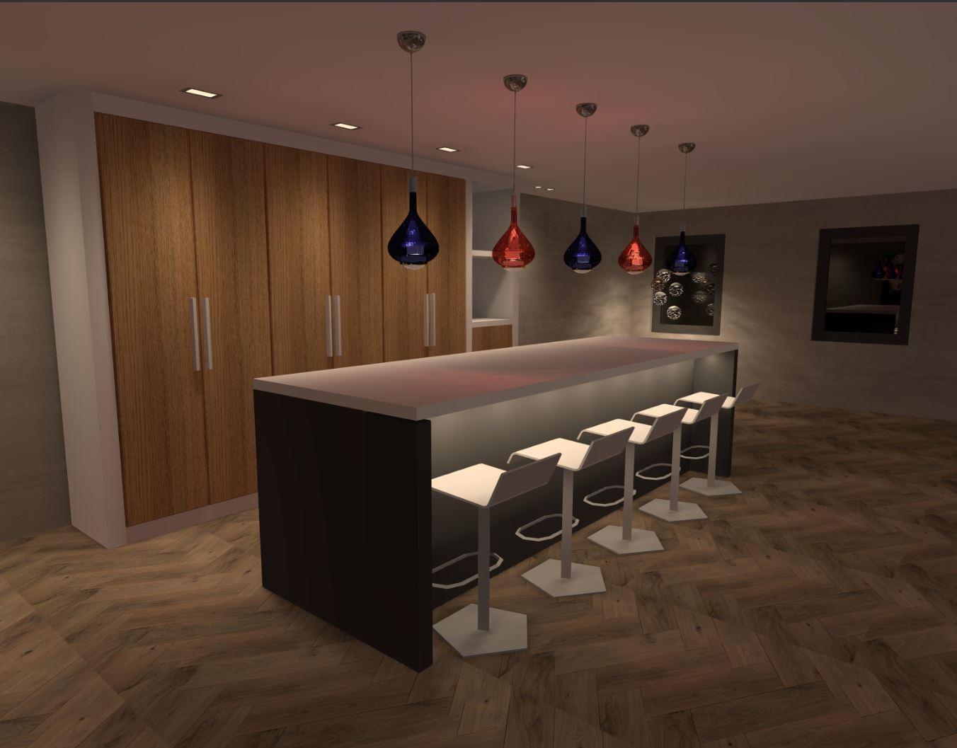3D lichtplan presentatie